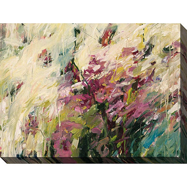 Karen Silve 'Aura IV' Oversized Canvas Art