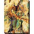 Karen Silve 'In Concert II' Oversized Canvas Art