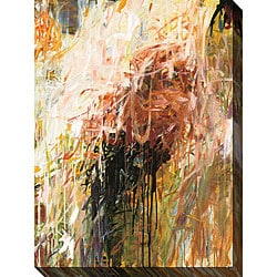 Karen Silve 'Exuberance I' Oversized Canvas Art