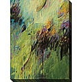 Karen Silve 'Blackberry I' Oversized Canvas Art