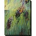 Karen Silve 'Blackberry II' Oversized Canvas Art