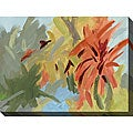 Karen Wilkerson 'Bromeliad Essence II' Canvas Art