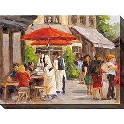 Gallery Direct Karen Wilkerson 'Paris Street Scene II' Oversized Canvas Art