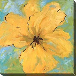 Karen Wilkerson 'Opulence I' Oversized Canvas Art
