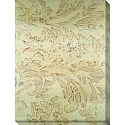 Leslie Saris 'Seafoam Design V' Canvas Art