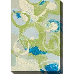 Leslie Saris 'Emerging Impression IV' Oversized Canvas Art