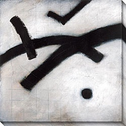 M. Drake 'Monochromatic Series III' Oversized Canvas Art