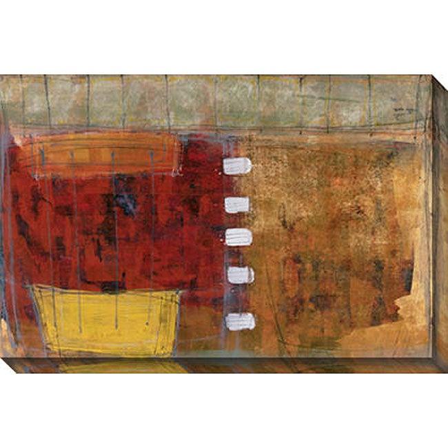 Maeve Harris 'Section Five' Oversized Canvas Art