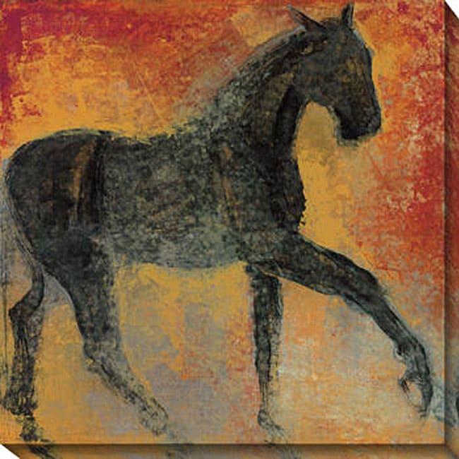 Gallery Direct Maeve Harris 'Furioso I' Oversized Canvas Art