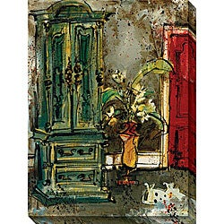 Olivia Maxweller 'The Red Door' Oversized Canvas Art