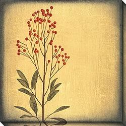 Walter Paulson 'Botanica I' Oversized Canvas Art