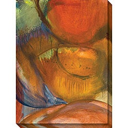Sylvia Angeli 'Abstracted Nature IX' Oversized Canvas Art