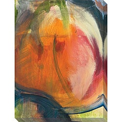 Sylvia Angeli 'Abstracted Nature VII' Oversized Canvas Art