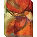 Sylvia Angeli 'Abstracted Nature XIV' Oversized Canvas Art