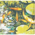 St. John 'Koi II' Oversized Canvas Art