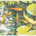 St. John 'Koi II' Oversized Canvas Art