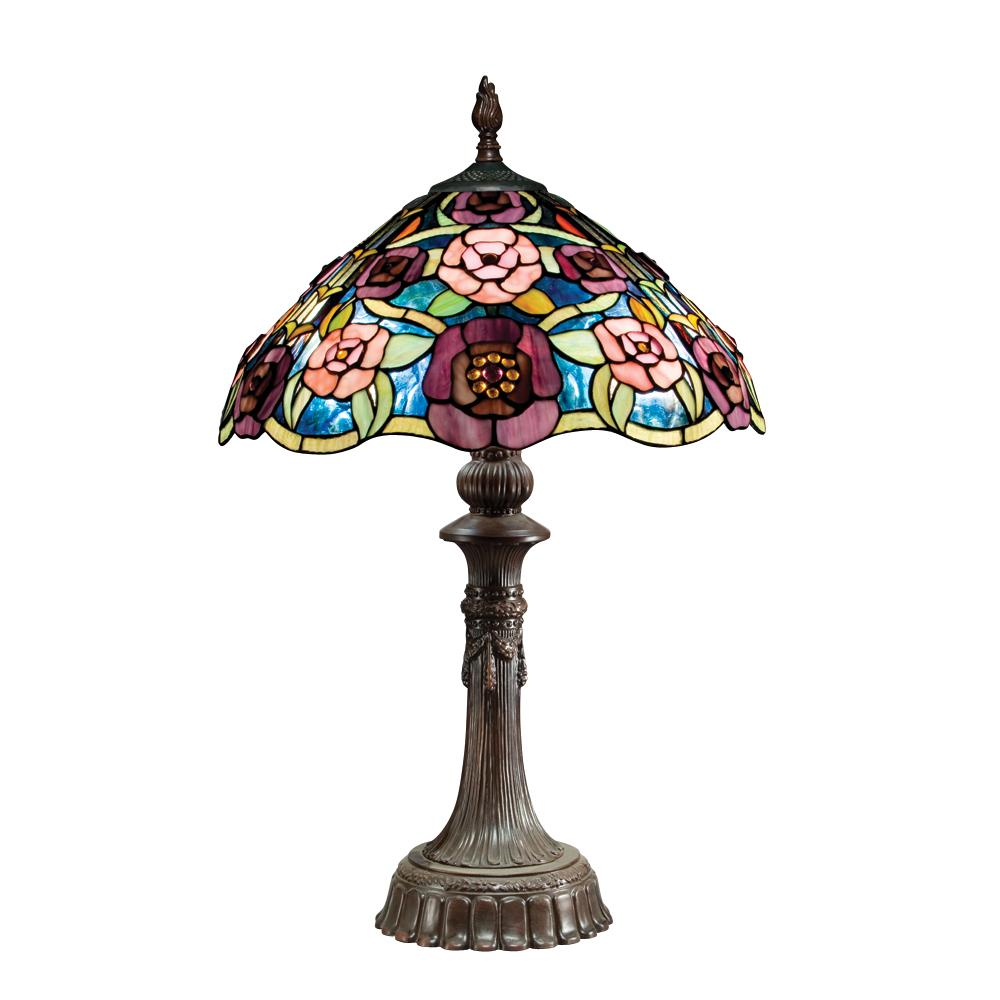tiffany style bronze table lamp 11950733 shopping. Black Bedroom Furniture Sets. Home Design Ideas