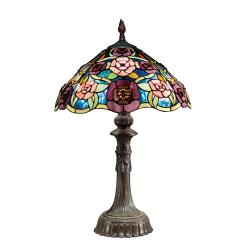 Tiffany-style Bronze Table Lamp