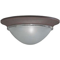 Olde Brick 2-light Flush Mount Pendant