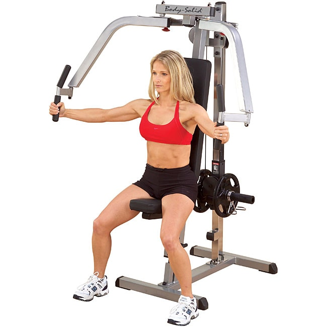 Plate Loaded Pec Fly Machine - 11946960 - Overstock.com ...