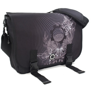 DadGear Concentric Circles Messenger Diaper Bag