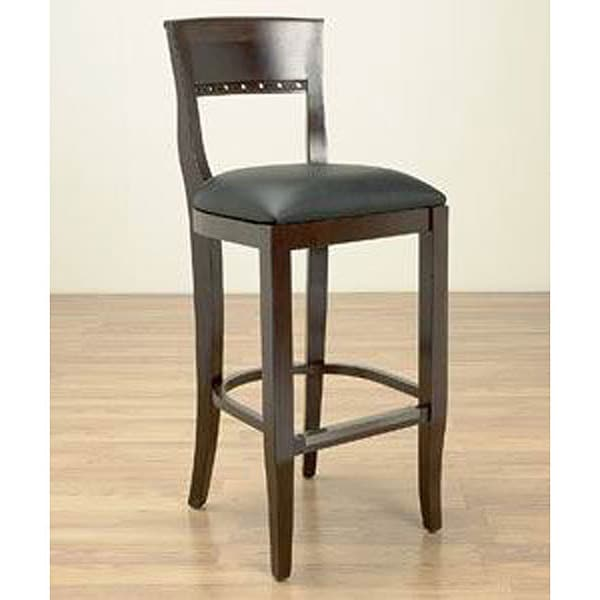 Walnut Biedermier Counter Stool 11948866 Overstock Com