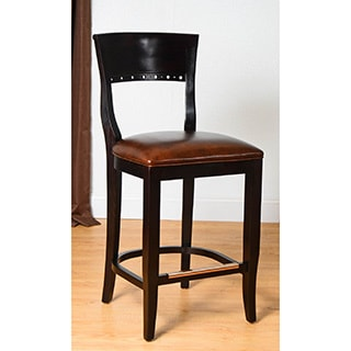 Walnut Biedermier Counter Stool