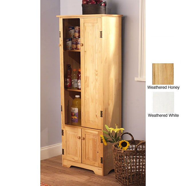 Simple Living Extra-tall Cabinet - 11952129 - Overstock