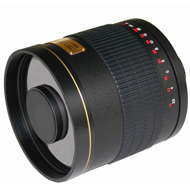 500mm telephoto lens - black 2014free shipping 2014dx