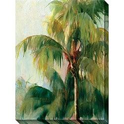 Allyson Krowitz 'Quiet Palm' Gallery-wrapped Art