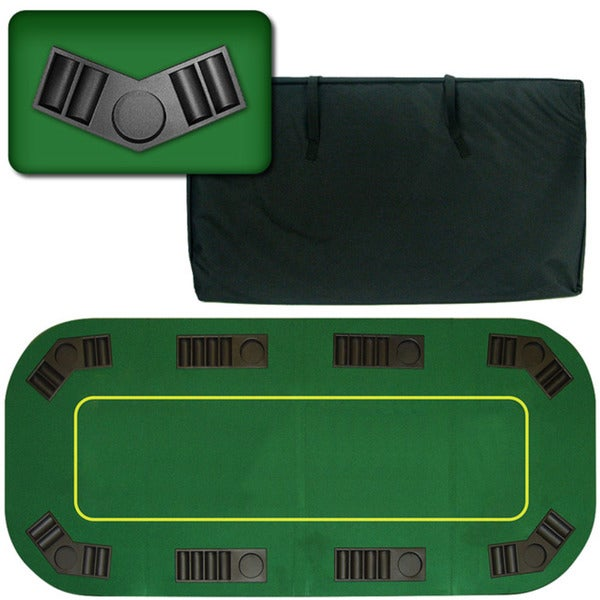 Texas Holdem Folding 80-inch Poker Tabletop 5201064
