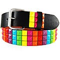 Iced Out Gear Women's 'Rainbow Studs' Belt