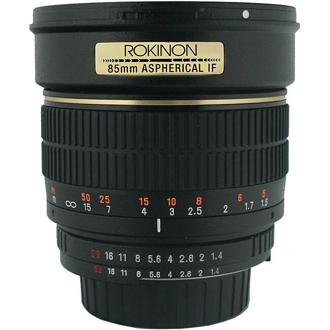 Rokinon 85mm f/1.4 Portrait Lens for Canon Cameras