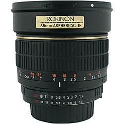 Rokinon 85mm f/1.4 Portrait Lens for Nikon Cameras