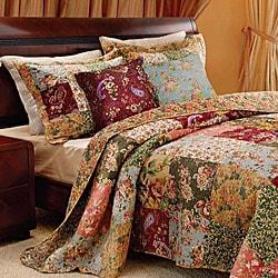 Antique Chic King-size 5-piece Quilt Set