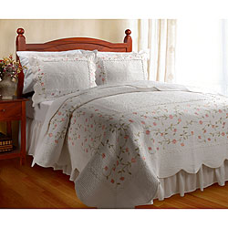 Guinevere Cotton  3-Piece Quilt Set