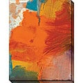 Sylvia Angeli 'Abstracted Fruit X' Oversized Canvas Art