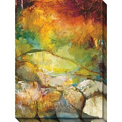 Sylvia Angeli 'Mountain High II' Oversized Canvas Art