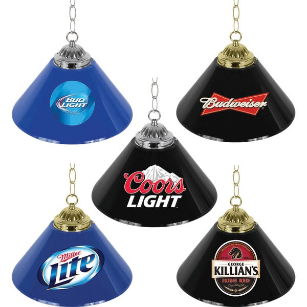 Beer Logo Hanging Light Bar Lamp (14 inches)