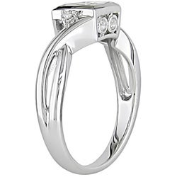 14k White Gold 1/2ct TDW Round and Princess Diamond Ring (H-I, I1-I2)
