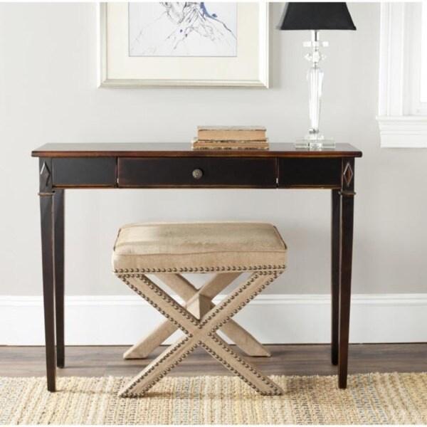 Safavieh Lindy Dark Brown 1-drawer Console Table