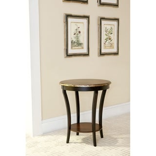 Safavieh Harrison Beidermeir Dark Brown Round Side Table