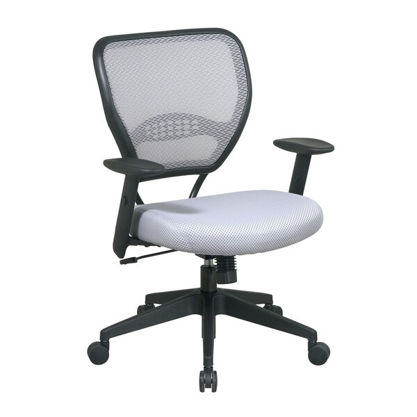 Office Star Shadow Air Grid Back Managers Chair