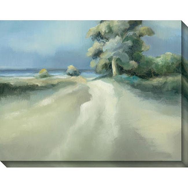 Gallery Direct Caroline Ashton 'Lakeside Tree II' Gallery-wrapped Art