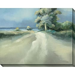 Gallery Direct Caroline Ashton 'Lakeside Tree II' Gallery-wrapped Art