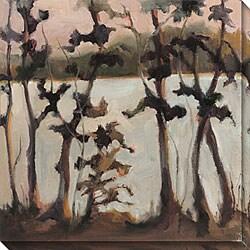 Caroline Ashton 'Quiet Moments II' Oversized Canvas Art
