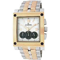 Le Chateau Men's Two-tone Sports Dinamica Watch