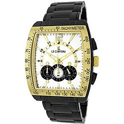 Le Chateau Sports Dinamica Men's Gunmetal Watch with Tachymeter