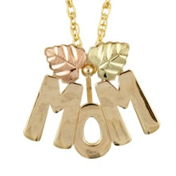 Black Hills Gold MOM Necklace