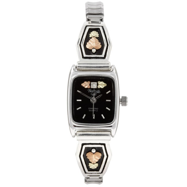 Black Hills Gold Ladies Stainless Steel Watch